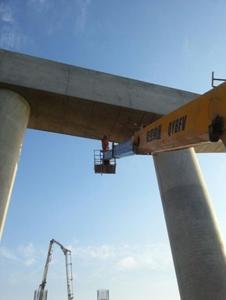 大连普湾新区十六号路跨海桥工程